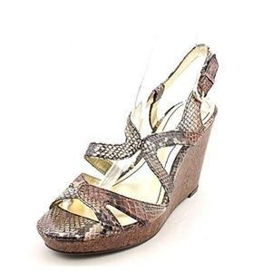Style & Co Allyssa Womens Size 9 Brown sandals